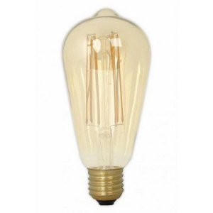 Lâmpada 4W LED ST58 Filamento Pera Vintage Tomas Edison Bivolt Branco Quente 2200k