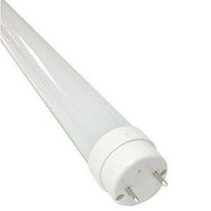 Lâmpada Tubular 10W 60cm LED Ho T8 Bivolt Branco Neutro 4000k