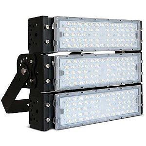 Refletor LED Holofote Modular 150w Branco Quente 3000k   IP65