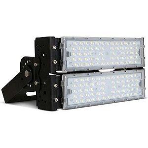 Refletor LED Holofote Modular 100w Branco Frio 5700k   IP65