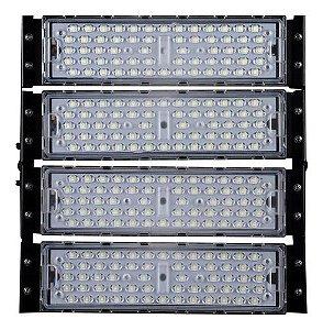 Refletor LED Holofote Modular 200w 3000K Branco Quente IP65