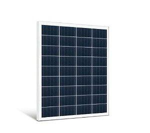 Painel Placa Solar 100W Célula Energia Fotovoltaica