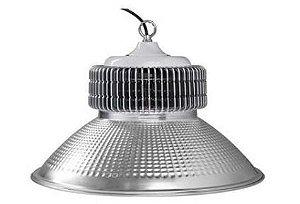 Luminária High Bay 60W LED Bivolt Industrial Galpão Ginásio Branco Frio 6000k