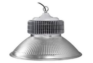 Luminária High Bay 80W LED Bivolt Industrial Galpão Ginásio Branco Frio 6000k