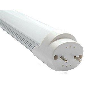 Kit 10 Lâmpadas Tubular 10W 60cm LED Ho T8 Bivolt Branco Frio 6000k