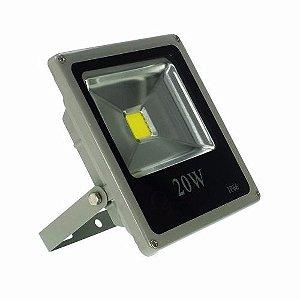 Refletor LED Holofote 20w IP65 A prova D'Água Branco Frio 6000k