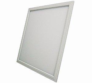 Luminária Plafon Led 36w 40x40 Embutir Linha Premium Branco Frio