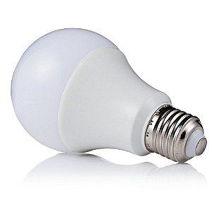 Kit 10 Lâmpadas Super LED 5W Bulbo Bivolt Branco Frio 6000k