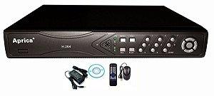 DVR 16 Canais Stand Realtime H264 com HDMI