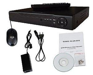 Dvr Stand Alone CFTV 4 Canais H264 Tempo Real 240 FPS Celular