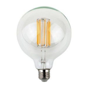 Lâmpada 8W LED De Filamento G95 Vintage Edson Bivolt Bulbo