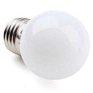Lampada Super Led 12w Bulbo Soquete E27 Bivolt Branco Quente 3000k