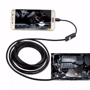 Camera Inspeção Sonda Endoscópica 3,5 Metros Android Otg Pc