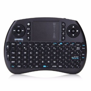 Mini Teclado Universal LED Touch Pad Sem Fio Wireless Console Pc