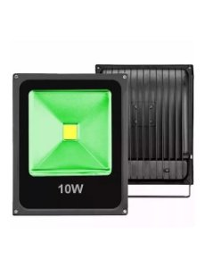 Refletor Holofote LED 10W A prova D'Água IP66 Verde