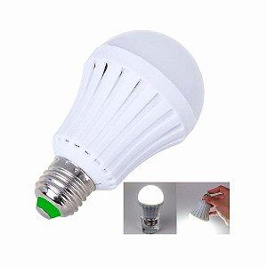 Lâmpada Led Inteligente De Emergência 5w Bulbo 220v E27