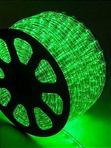 Mangueira LED Verde 100 metros Ultra Intensidade - A prova dágua