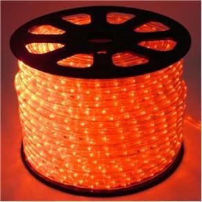 Mangueira LED Achatada Vermelho 100 metros 110v Ultra Intensidade - A prova dágua