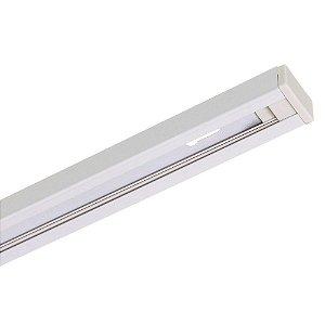 Trilho Eletrificado para Spot LED 1,2 metros Bivolt Branco