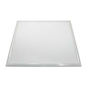 Luminária Plafon LED 48W 62x62 Quadrado Embutir Branco Frio 6000k