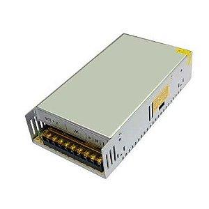 Fonte Chaveada 50a 12v 600w Bivolt CFTV Fita LED Som Automotivo