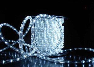 Mangueira LED 100 metros 110v Branco Frio Ultra Intensidade - A prova D'água