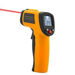 Pistola Com Laser Para Medir Temperatura De -50 A 380 ºc