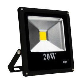 Refletor Holofote LED 20W IP66 A prova D'Água Branco Quente 3000k