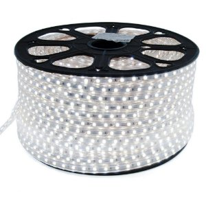 Fita LED Branco Frio 5050 100 metros 110v A prova D'Água