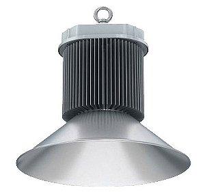 Luminária Industrial Led High Bay 150w Bivolt Galpão Ginásio Branco Frio 6000k
