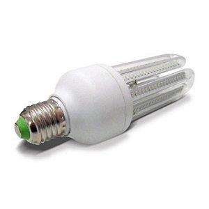 Lâmpada De Milho 12W LED 3u Bivolt Econômica Branco Quente 3000k