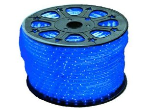 Mangueira LED 100 Metros 110v Achatada Azul Ultra Intensidade - A prova dágua
