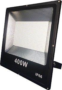 Refletor LED Holofote 400w SMD IP65 A prova D'Água Branco Frio 6000k