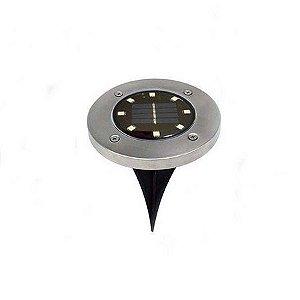 Kit 4 Espeto Solar de Jardim 4W LED Branco Quente A Prova D'Água