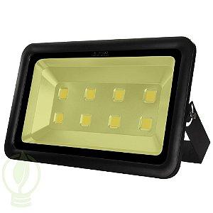 Refletor Holofote LED 400W IP66 A prova D'Água Branco Quente 3000k