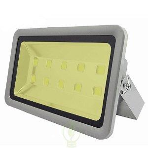 Refletor Holofote LED 500W IP66 A prova D'Água Branco Quente 3000k