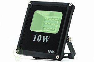 Refletor Holofote LED 10W SMD A prova D'Água IP66 Verde