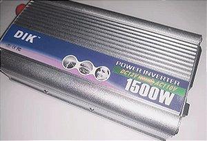 Inversor para Placa Solar 1500W 12v 110v