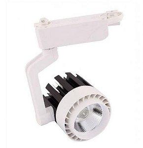 Spot 20W Super LED para Trilho COB Branco Quente 3000k