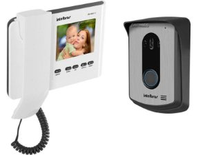 Interfone Video Porteiro Color Intelbras LEDs infravermelhos