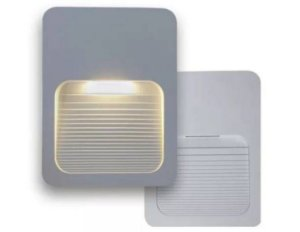 Balizador LED 2W De Sobrepor Branco Quente 3000k