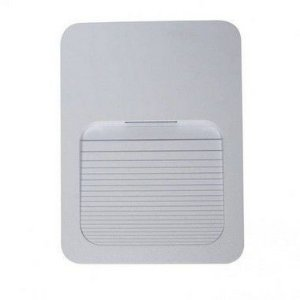 Balizador LED 2W De Sobrepor Branco Frio 6000k