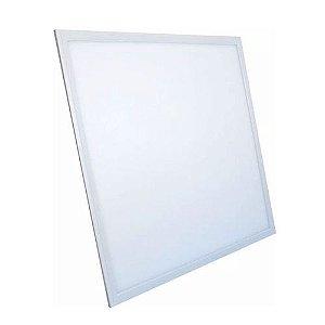 Luminária Plafon LED 32W 30x30 Quadrado De Embutir Branco Frio 6000k