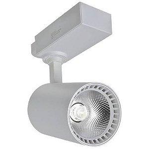 Spot 24W Super LED para Trilho Eletrificado Branco Quente 3000k
