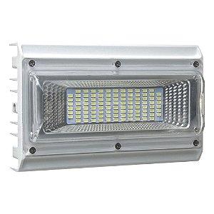 Refletor Holofote MicroLED Industrial 100W Branco Frio 6000k