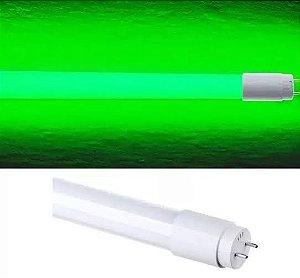 Lâmpada 18W 1,20m LED Tubular T8  - Verde
