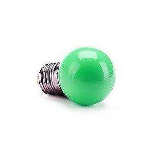 Lâmpada 1W LED Bolinha Verde
