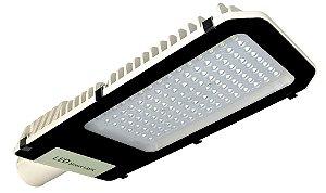 Luminária Pública 100W Ultra LED Street Light Branco Frio 6000k