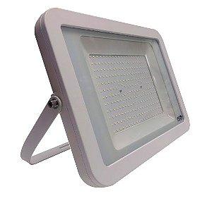 Refletor MicroLED Ultra Thin 150W White Type Branco Frio Carcaça Branca