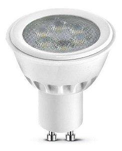 Lâmpada 4,5W LED Dicróica GU10 Branco Quente 3000k